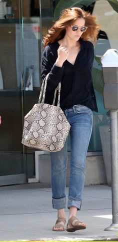 Mandy Moore .. casual style