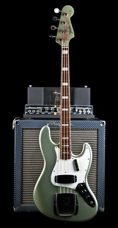 1966 Fender Jazz Bass in Firemist Silver - Shared by The Lewis Hamilton Band - https://www.facebook.com/lewishamiltonband/app_2405167945 - www.lewishamiltonmusic.com #bassguitar
