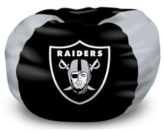 Use this Exclusive coupon code: PINFIVE to receive an additional 5% off the Oakland Raiders Bean Bag Chair at SportsFansPlus.com