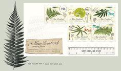 NZ Native Ferns Miniture Sheet First Day Cover
