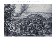 Abraham in the Bowyer Bible 6. Going into Egypt. Borcht. Medhurst-Kossuth-Vere on Flickr. A print from the Bowyer Bible, a grangerised copy of Macklin's Bible in Bolton Museum and Achives, England. Photo: Harry Kossuth. Text: Phillip Medhurst. File:...