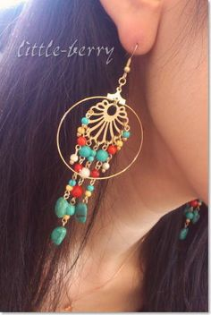 Handmade Accessories, Handmade Jewelry, Autumn, Drop Earrings, Nails, Colors, Accessories, Boucle D'oreille, Jewerly