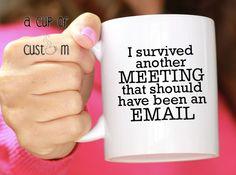 Gift for Boss-Personalized Mug-Custom Coffee Mug-Funny Coffee Mug-Co Workers Gift-Coffee Gift-Coffee Lover Gift-Coffee Cup-Mugs-Custom Gift by ACupOfCustom on Etsy