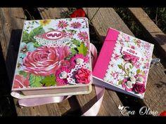 Tutorial álbum con caja, parte 2/2 / Album in box tutorial, part 2/2
