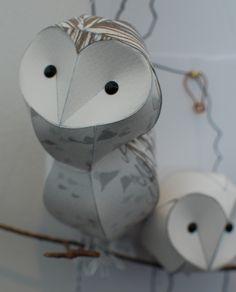 paper owls by Kaper