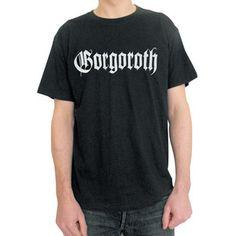 179215125 Classic Gorogoroth 'True Norwegian Black Metal' T-shirt with back print.  Highest