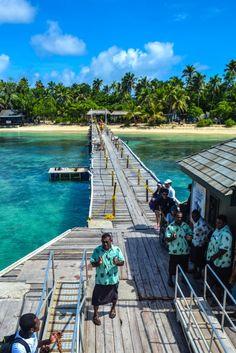 Mana Island, Fiji - Just one of Fiji's amazing Mamanuca Islands