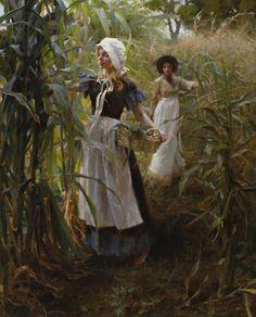 Morgan Weistling - The Cornfield (aka Field of Gold) @@@.....http://es.pinterest.com/mariaalicegoula/trabalho-feminino/