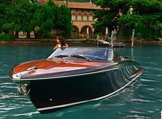 pinterest.com/fra411 #classic #motorboat this is how we float...tc