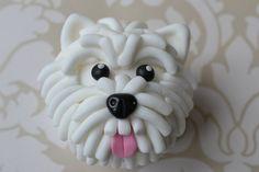Scotty dog cupcake