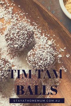 Tim Tam Balls are a decadent combination of cream cheese mixed with various flavours of Tim Tam Biscuits.