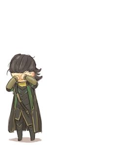 dont cry, Loki, please... (I don't care what he did, the poor darling. Someone hug him and love him and give him cookies.)