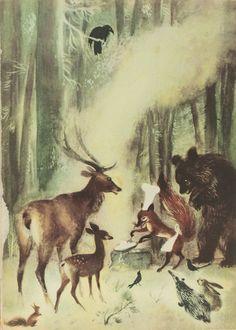 Illus by Jan Marcin Szancer for Brzechwa Dzieciom 2 1955