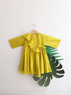 Limited Edition f-w — Q'uinti Baby Girl Dress Patterns, Toddler Girl Dresses, Toddler Outfits, Baby Dress, Kids Outfits, Kids Frocks Design, Baby Frocks Designs, Children Style, Children Wear