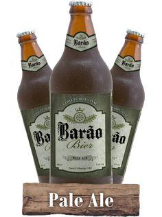 Cerveja Barão Bier Pale Ale, estilo American Pale Ale, produzida por Barão Bier, Brasil. 5.2% ABV de álcool.