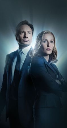 Created by Chris Carter.  With David Duchovny, Gillian Anderson, Mitch Pileggi, William B. Davis. Two FBI agents, Fox Mulder the believer and Dana Scully the skeptic, investigate the strange and unexplained while hidden forces work to impede their efforts.