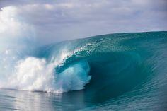 On Set in Tahiti | SURFER Magazine