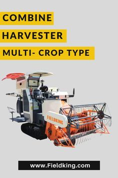 Fieldking Combine Harvester machine, has a robust 88HP engine and offers a range of benefits from cutting to threshing of crops. Click on the image to know it feature and types of fieldking combine harvester machine #combine #combineharvester #harvester #farmequipment #farmmachine #farmimplement #newmachine #agriculture #agricultureequipment #farmequipment #equipment #useofcombinemachine Harvest Corn, Agriculture Machine, Combine Harvester, Engine, Range, Cookers, Motor Engine, Motorcycle