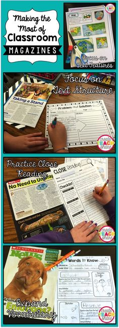 Upper Elementary Snapshots: Making the Most of Classroom Magazines