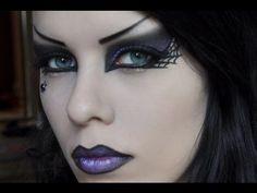 Delyrias Witch makeup look tutorial by Delyria