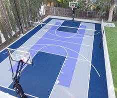 Gallery of backyard court and home gym installations featuring SnapSports Backyard Ice Rink, Backyard Sports, Backyard Playground, Backyard For Kids, Backyard Tennis Court, Quito, Outdoor Basketball Court, Backyard Paradise, Luxury Homes Dream Houses
