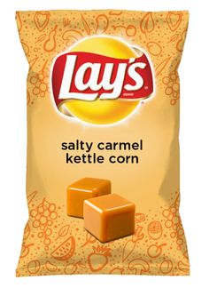 Wouldn't salty carmel kettle corn be yummy as a chip? Lay's Do Us A Flavor is back, and the search is on for the yummiest chip idea. Create one using your favorite flavors from around the country and you could win $1 million! https://www.dousaflavor.com See Rules.