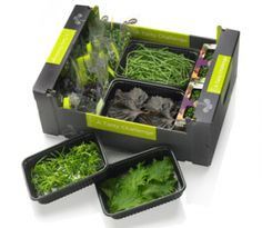 Mooie cress-verpakkingen I'll take this tasty #packaging challenge PD