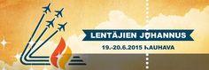 Vuonna 1945 perustettu Lentäjien Juhannus saa jatkoa 19.–20. kesäkuuta 2015! Tapahtuma järjestetään entisen Kauhavan Lentosotakoulun alueella kaksipäiväisenä, ja kansainvälinen huikea ilmailuohjelma nähdään sekä perjantaina että lauantaina. Paikalle on luvassa myös kova artistikattaus. Tapahtumassa nähdään muun muassa tulevana kesänä harvakseltaan keikkaileva suomirockin konkari Kolmas Nainen.