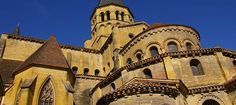 La basilique du Sacré Coeur de Paray-le-Monial est l'un des chefs-d'œuvre de l'art roman bourguignon du XIIème siècle.