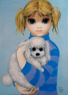 """""""Ready For The Show"""" ~ Margaret Keane, 1982"""