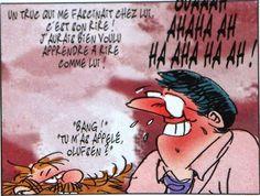Clins d'yeux et bandessinées: Delporte et Franquin