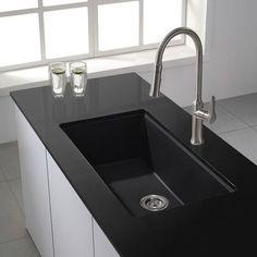 Kraus 31 X 17 09 Undermount Single Bowl Granite Kitchen Sink