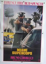 "Vintage 1986 ""  MIAMI SUPERCOPS "" 1sh Policemen Crime Action Comedy"