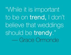 Just saying ... Grace Ormonde Wedding Style #GOWS #platinumlist #weddingstyle #graceormonde #luxuryweddings