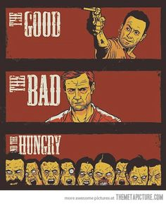 The Walking Dead - Good, Bad, & the Ugly mashup