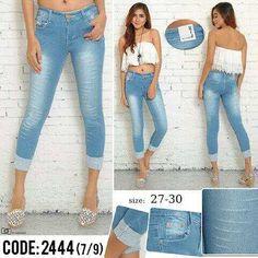"""""Celana jeans laser RIJ 2444 Material: soft jeans Harga: 135 Warna: blitz Order PIN CS1-5A1F32FA PIN CS2-5FI5DE72 & SMS/WA 087722-575-101  Reseller & Dropship Welcome!  Happy Shopping! :) #produkbaru #jamtangan #jamtanganwanita #jammurah #grosirjam #swetercouple #flatshoes #jamtanganterbaru #resellerjamtangan #taswanita #sneakerscwe #celanajeansripped #jamtanganartis #olshop #wedgesterbaru #jaketjeans  #resellerwelcome #celanajeans #sepatubandung"