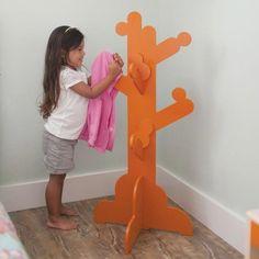 P\'Kolino Little Ones Clothes Tree - Orange #clothestree #pkolino #oliverthomas #kidsfurniture #kidsdecor #kidsroom #nursery