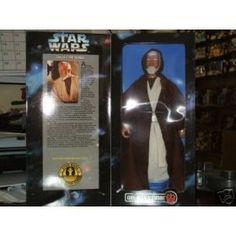12 Ben Obi-Wan Kenobi Series 2 Gold Belt Buckle Light Blue Background Star Wars Collector Series by  @ niftywarehouse.com #NiftyWarehouse #Geek #Products #StarWars #Movies #Film