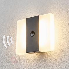 mit Bewegungsmelder  Kumi - LED-Außenwandleuchte sicher & bequem online…