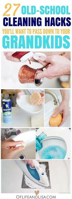 These cleaning hacks are so cool that you will want to pass them down for generations!