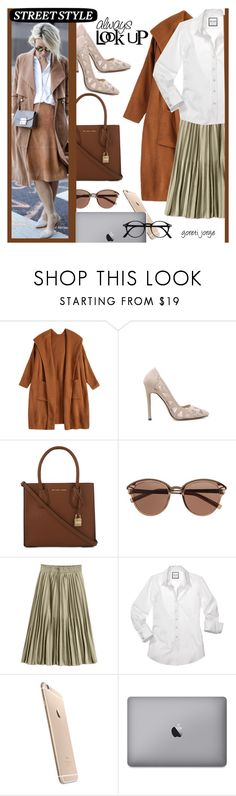 """What's Your Power Look? "" Zaful """" by goreti ❤ liked on Polyvore featuring MICHAEL Michael Kors and Witchery"