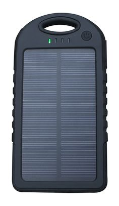 MacSafety Products Be-ready: Clip-on Solar Charger. Outdoor-friendly, built with silicone rubber covers over ports to protect from rain, dirt, sand and dust, shockproof case resists damage when dropped. Great for travel charge your phone when you are not near an electrical outlet, Lightweight design fits in purse or pocket. Safety and security, useful during power outages and for disaster preparedness kits, in addition a led flashlight is integrated into the charger case. Compact…