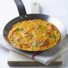 Omelette plate espagnole au thon :: RECETTES DE BENJY