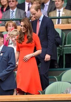 Kate Middleton, the Duchess of Cambridge always looks so classy Kate Middleton Wimbledon, Style Kate Middleton, Kate Middleton Dress, Wimbledon 2015, Wimbledon Tennis, Princesa Kate, Princesa Real, Prince William Et Kate, Kate Middleton Prince William