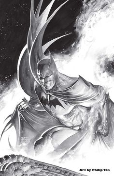 Batman by Philip Tan