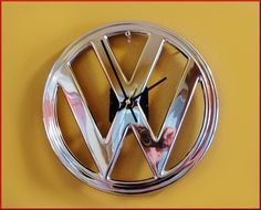 Vintage VW Bus Emblem Repurposed into a by FatherTimeClassics, $75.00