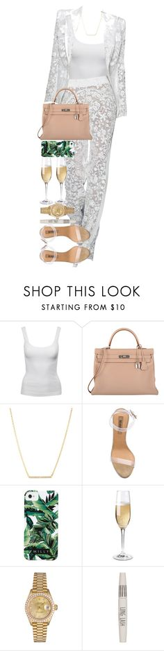 """""""By the pricking of my thumbs,  Something wicked this way comes."""" by quiche ❤ liked on Polyvore featuring Jane Norman, Hermès, Kate Spade, adidas, Milly, Wine Enthusiast, Rolex and Topshop"""