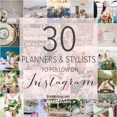 30 Wedding Planners