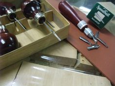 Tools for miniature carving