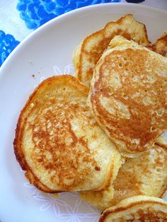 cornmeal and buttermilk pancakes.